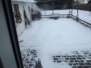 Så kom der sne til Fyn