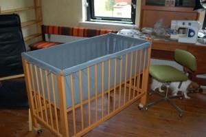 Jeg monterede en ny seng til Luna